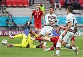 یورو 2020  پیروزی پرتغال مقابل مجارستان با طوفان 8 دقیقهای/ رونالدو به دایی نزدیکتر شد