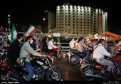 اجتماع حامیان آیت الله رئیسی در میدان ولیعصر