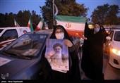 کاروان خودرویی تبلیغات انتخاباتی مشهد