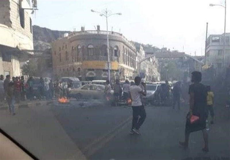 اعتراضات گسترده در مناطق تحت اشغال متجاوزان اماراتی و سعودی در جنوب یمن