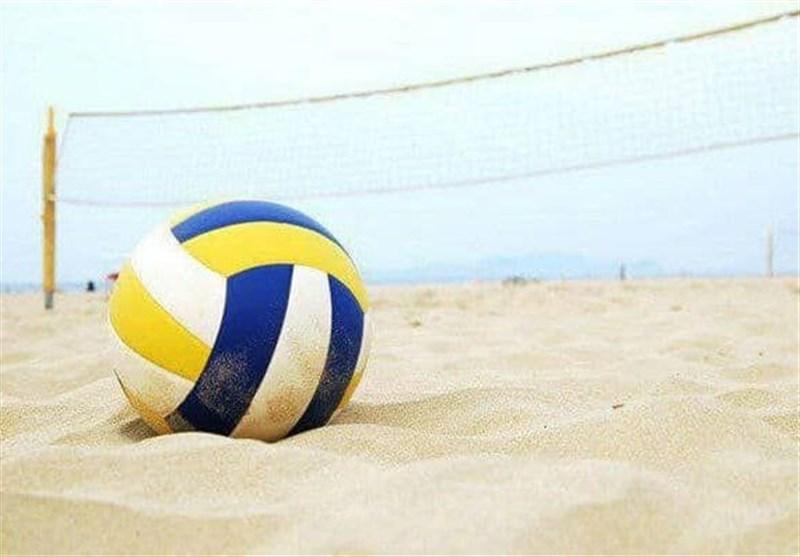 آغاز سومین اردوی تیم ملی والیبال ساحلی ناشنوایان در بندر انزلی