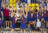 بارسلونا الکلاسیکوی بسکتبال را برد و قهرمان شد