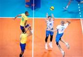 لیگ ملتهای والیبال| برزیل به سختی اسلوونی را شکست داد/ ایران در جایگاه هشتم + جدول و برنامه بازیهای امروز