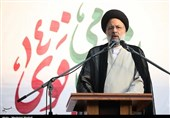 """رئیس شورای وحدت در استان گلستان: """"رئیسی"""" در برخورد با فساد و دانه درشتها قاطعیت و صلابت دارد + فیلم"""