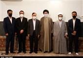 دیدار صمیمی رؤسای ستاد نامزدهای ریاستجمهوری در قزوین به روایت تصویر
