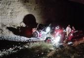 سقوط مرگبار پاترول به دره در سعادتآباد + تصاویر