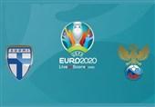 یورو 2020| اعلام ترکیب 11 نفره فنلاند و روسیه