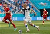 یورو 2020| برتری لحظه پایانی روسیه مقابل فنلاند در 45 دقیقه اول