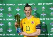 یورو 2020  بیل بهترین بازیکن دیدار ترکیه - ولز شد + عکس
