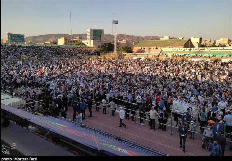 تبریز کار را تمام کرد/استقبال کم نظیر آذربایجان از آیتالله رئیسی+تصاویر