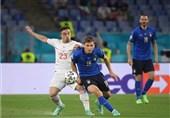 یورو 2020  برتری ایتالیا مقابل سوئیس وقتی آمار مساوی بود