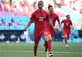 یورو 2020| پیروزی یک نیمهای دانمارک برابر بلژیک با سریعترین گل جام/ اریکسن یک دقیقه تشویق شد + عکس