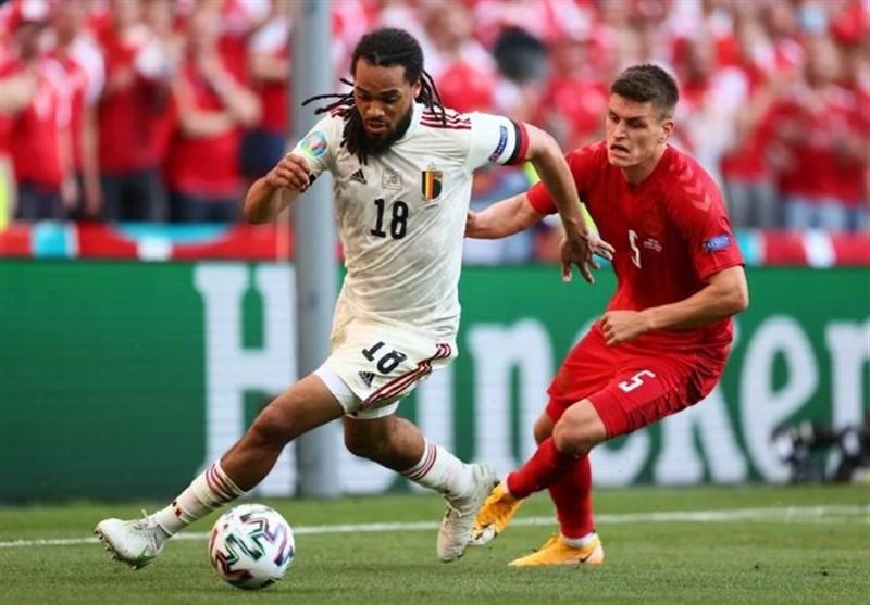 تیم ملی فوتبال بلژیک , یورو 2020 , تیم ملی فوتبال دانمارک ,