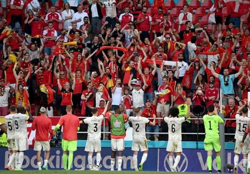 یورو 2020| صعود بلژیک در شب یادبود اریکسن به روایت تصویر