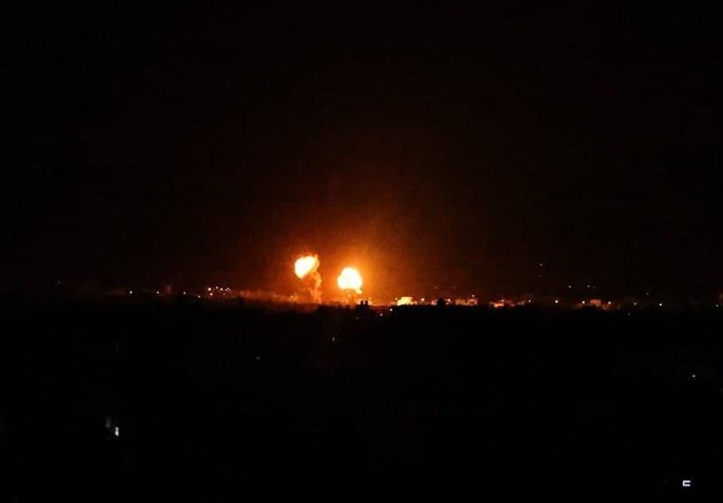 حمله جنگندههای اسرائیلی به نوار غزه