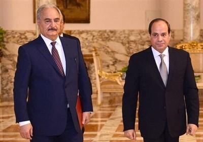 دیدار رییس اطلاعات مصر با خلیفه حفتر در بنغازی