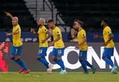 کوپا آمهریکا 2021| تداوم صدرنشینی برزیل با غلبه بر پرو و توقف کلمبیا