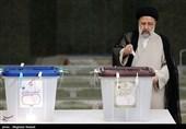 المرشح ابراهیم رئیسی یدلی بصوته فی مدینة ری جنوب طهران