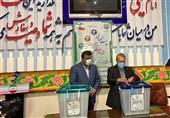علی لاریجانی رای خود را به صندوق انداخت