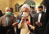 آیت الله دری نجفآبادی: مردم امروز بار دیگر تمام تلاش دشمن علیه ایران را خنثی و نقش برآب میکنند + فیلم