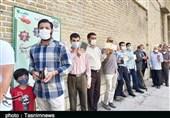 گزارش تصویری  حضور پرشور مردم لرستان پای صندوقهای رای