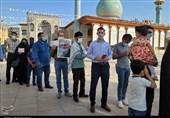 صفهای همدلی و بصیرت مردم استان فارس در انتخابات 1400 + فیلم