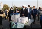 امام جمعه بوشهر: مشارکت در انتخابات مانند حضور در جبهههای دفاع مقدس است/ استاندار بوشهر: انتخابات در سلامت و با امنیت کامل در حال برگزاری است + فیلم