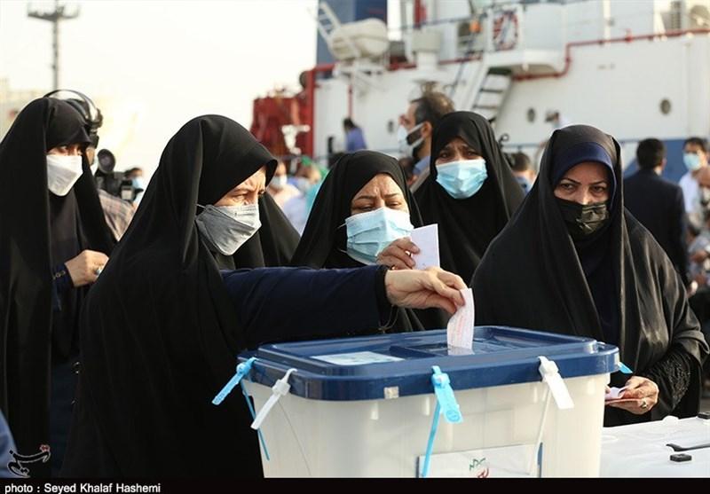 اقتدار ملت ایران از جوار خلیج فارس به دنیا مخابره شد /خلق حماسهای دیگر انتخاباتی در استان بوشهر + فیلم