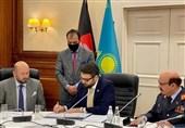 افغانستان و قزاقستان توافقنامه همکاریهای نظامی امضا کردند