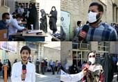 صفهای وحدت و همدلی مردم لرستان در انتخابات 1400 / مردمانی که به فرمان امام خامنهای لبیک گفتند + فیلم