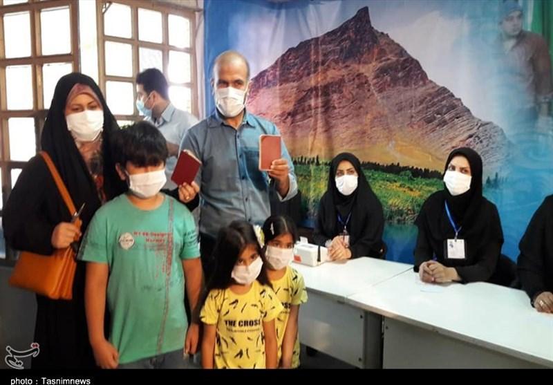 حماسه حضور مردم استان مرکزی در انتخابات + تصاویر