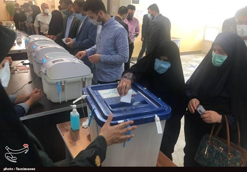 خلق حماسه در نگارستان ایران / مشارکت باشکوه گلستانیها در پای صندوقهای رأی + فیلم