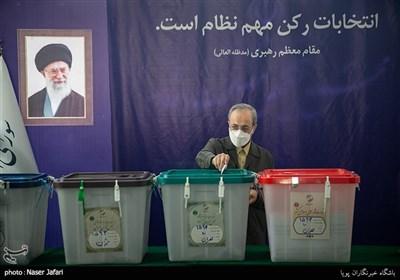 صندوق اخذ رای در شورای نگهبان