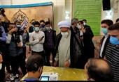 تولیت آستان قدس رضوی در انتخابات شرکت کرد+فیلم