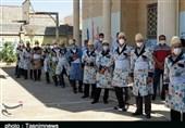 گزارش تصویری  صفهای طولانی مردم لرستان برای انتخاب اصلح