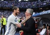 پیام آنچلوتی به راموس پس از جدایی او از رئال مادرید