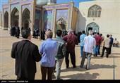 صفوف فشرده مردم کرمانشاه برای حضور در انتخابات / لبیک به فرمان امام خامنهای + فیلم