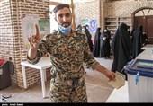 شور حضور قزوینیها در انتخابات 1400 به روایت تصویر