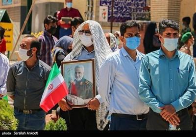 الانتخابات الرئاسیة الإیرانیة فی کرمان