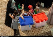 گزارش تصویری| حماسه حضور مردم دارالعباده در انتخابات 1400