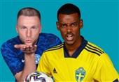 یورو 2020| ترکیب سوئد و اسلواکی مشخص شد
