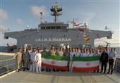 پیام انتخاباتی ناوگروه نیروی دریایی ارتش از اقیانوس اطلس