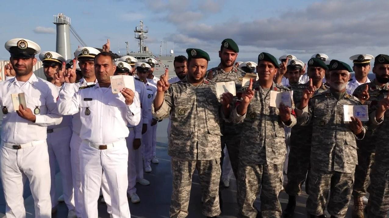 انتخابات ریاست جمهوری 1400 , نیروی دریایی   نداجا   نیروی دریایی ارتش ,