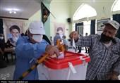 شکوه حضور مردم اهواز در انتخابات 1400 + تصاویر