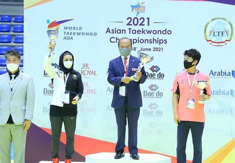 تکواندو قهرمانی آسیا| تاریخسازی بانوان با کسب عنوان نایب قهرمانی/ ضعیفترین نتیجه تکواندو مردان در 19 سال اخیر + تصاویر