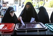 """اعضای لیست """"شورای ائتلاف"""" در شهر ری رأی خود را به صندوق انداختند"""