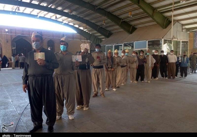 گزارش تصویری  شور انتخابات در گوشه و کنار استان کرمانشاه