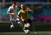 یورو 2020|تساوی؛ حاصل تلاش سوئد و اسلواکی در نیمه اول