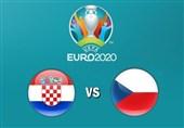 یورو 2020| اعلام ترکیب 11 نفره تیمهای کرواسی و جمهوری چک