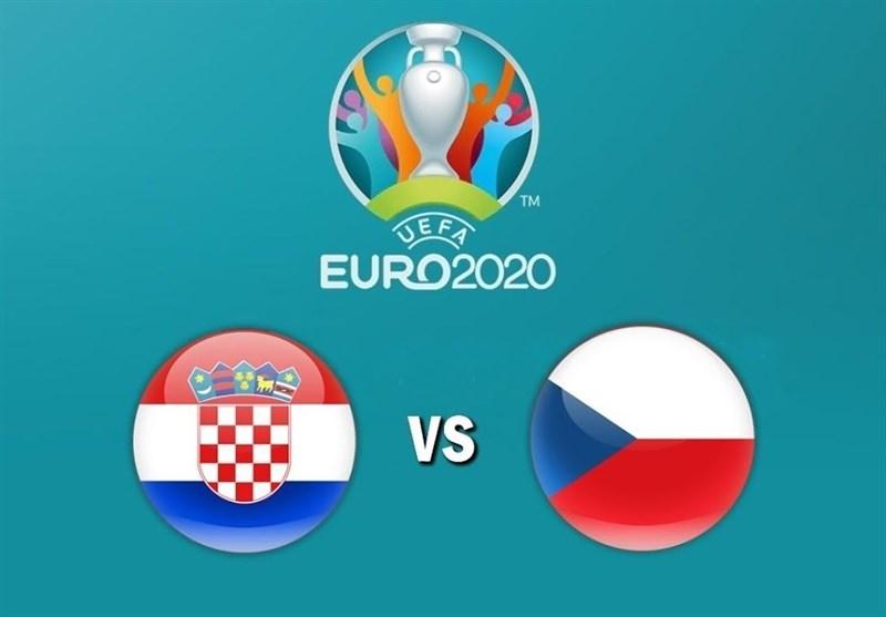 یورو ۲۰۲۰| اعلام ترکیب ۱۱ نفره تیمهای کرواسی و جمهوری چک